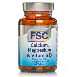 FSC Calcium Magnesium & Vitamin D 60 Tablets