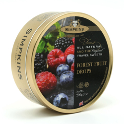 Simpkins Travel Sweets - Forest Fruit 200g Tin