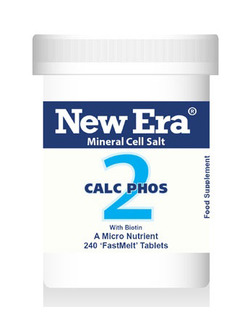 New Era No 2 Calc Phos Mineral Cell Salt 240 Tablets