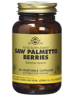 Solgar Saw Palmetto Berries 100 Veg. Caps
