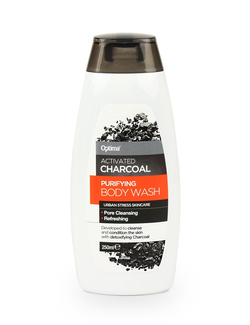 Optima Activated Charcoal Purifying Body Wash 250ml