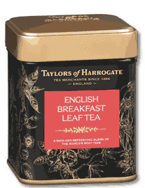 Taylors of Harrogate English Breakfast Leaf Tea 125g Caddy