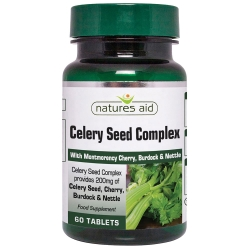 Natures Aid Celery Seed Complex 60 Tabs