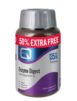 Quest Enzyme Digest 135 Tablets EXTRA VALUE PACK