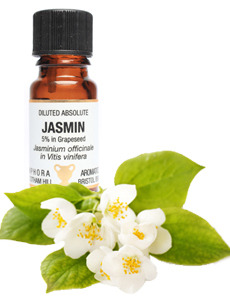 Amphora Aromatics Jasmin Absolute DILUTED (5%) in Grapeseed - 10ml