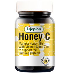 Lifeplan Honey C for Immunity 30 Capsules