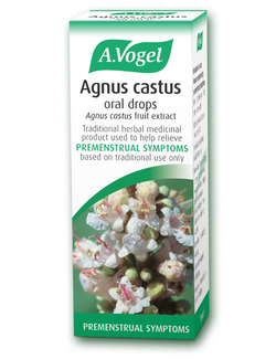 A.Vogel Agnus Castus Oral Drops Tincture 50ml for PMS