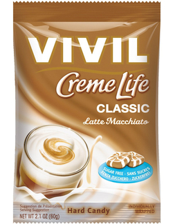 Vivil Creme Life Sugar Free Italian Coffee Sweets 60g