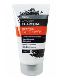 Optima Activated Charcoal Purifying Face Mask 200ml