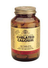 SOLGAR Chelated Calcium 100 Tablets