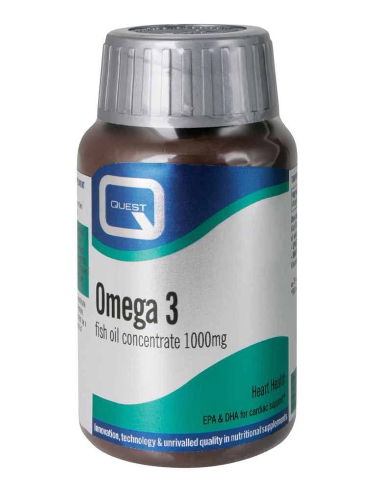 Quest omega 3 fish oil 1000mg 90 capsules healthstore for How to take fish oil pills
