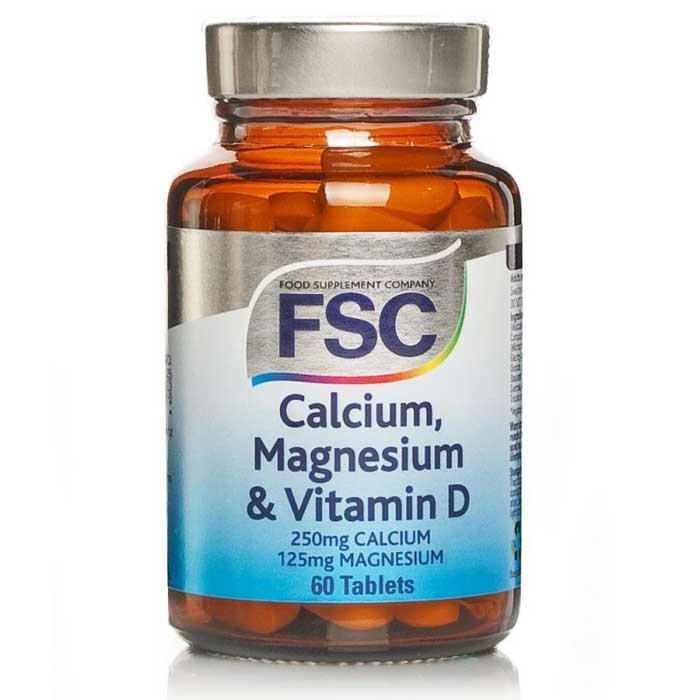 fsc calcium magnesium vit d 60 tabs healthstore. Black Bedroom Furniture Sets. Home Design Ideas