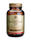 Solgar Vitamin B Complex 100 - 100 Veg. Caps SHORT DATED