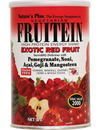 Natures Plus Fruitein High Protein Energy Shake Exotic Red Fruit 576g