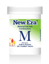 New Era Combination M Mineral Cell Salts 240 Tablets SHORT DATED