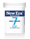 New Era No 7 Kali Sulph Mineral Cell Salt 240 Tablets