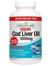 Natures Aid Cod Liver Oil 1000mg 90 Caps