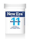 New Era No 11 Nat Sulph Mineral Cell Salts 240 Tablets SHORT DATED