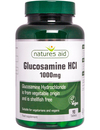 Natures Aid Glucosamine HCl 1000mg 90 Tablets SHELLFISH FREE SHORT DATED