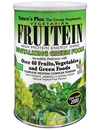 Natures Plus Fruitein High Protein Energy Shake Revitalising Green 576g