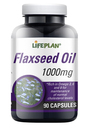 Lifeplan Flaxseed Oil 1000mg 90 Veg. Capsules