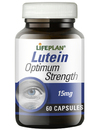 Lifeplan Lutein 15mg For Healthy Eyes 60 Caps
