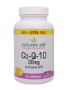 Natures Aid Co-Q-10 30mg 90 Caps + 50% Extra Free