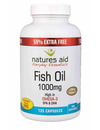 Natures Aid Fish Oil 1000mg 135 Caps