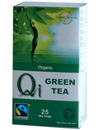 Herbal Health Qi Organic Fairtrade Green Tea 25 Bags