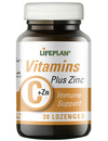 Lifeplan Vitamin C Plus Zinc - 30 Lozenges
