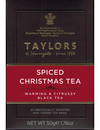 Taylors of Harrogate Spiced Christmas Tea 20 Wrapped & Tagged Tea Bags