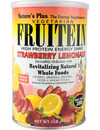 Natures Plus Fruitein High Protein Energy Shake Strawberry Lemonade 476g