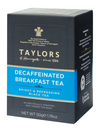 Taylors of Harrogate Decaffeinated Breakfast Tea - 20 Wrapped & Tagged Bags