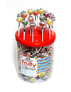 Simpkins Sugar Free Round Fruit Flav.Lollipops x 200 Drum