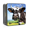 Simpkins British Farmyard Cow Tin with Mixed Fruit Drops 250g