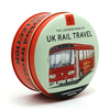 Simpkins Ladybird UK Rail Travel Mixed Fruit Travel Sweets Collectors Tin 150g