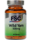 FSC Wild Yam 500mg 90 Tablets SHORT DATED