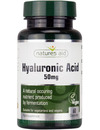 Natures Aid Hyaluronic Acid 50mg - 60 Caps