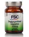 FSC Deglycyrrhized Liquorice 200mg 60 Tablets