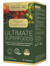 Natures Aid Organic Ultimate Superfoods 60 Capsules