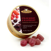 Simpkins Travel Sweets - Chocolate Centred Strawberry & Raspberry 175g