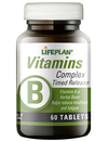 Lifeplan Vitamin B Complex Timed Release 60 Tablets