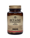 SOLGAR Betaine Hydrochloride with Pepsin 100 Tabs