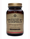 SOLGAR Advanced 40+ Acidophilus 60 Caps SHORT DATED