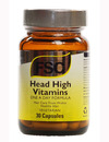 FSC Head High Vitamins for Healthy Hair 30 Caps
