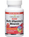 Natures Aid Complete Multi-Vits & Minerals 90 Tablets