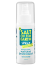 Salt of the Earth Natural Deodorant Spray 100ml Unscented