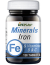 Lifeplan Iron & Vitamins B + C 150 Tablets