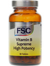 FSC Vitamin B Supreme High Potency 60 Tabs