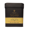 Taylors of Harrogate Single Estate Ceylon Leaf Tea Caddy 100g